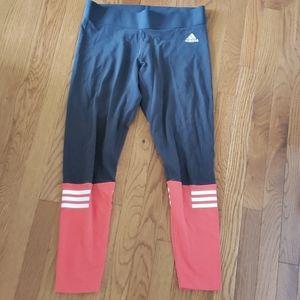 Adidas Workout Leggings Sz M